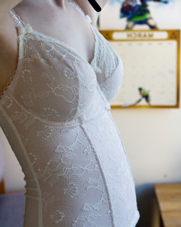 Detail shot. Such pretty lace