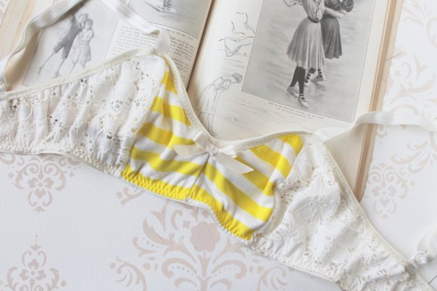 Another one I have my eye in is the Buttercup Yellow Stripes bralette