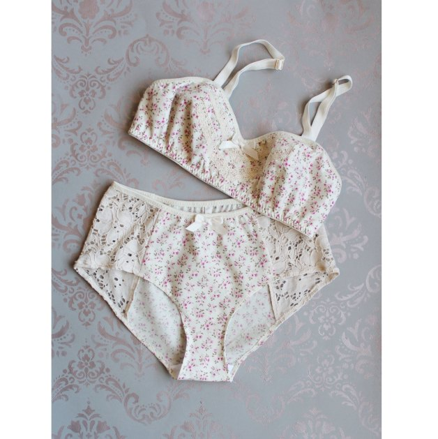 The Primrose Cotton & Lace set is perhaps too adorable.