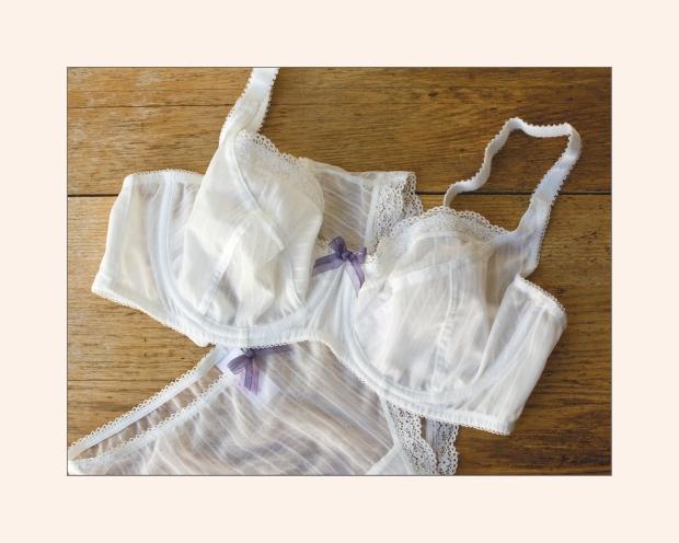 Miss Mandalay Lyla Balcony bra and Shorts